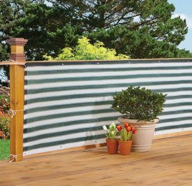 Deck & Fence Privacy Netting Screen by Bandwagon